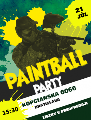 Summer Paintball Party 2019